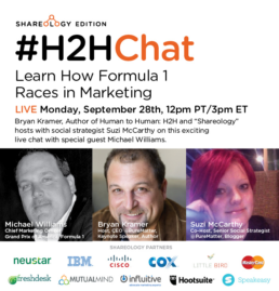 CMO of Formula 1 - Michael Williams joins #H2HChat