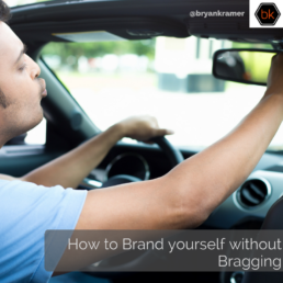 How to Brand yourself without bragging