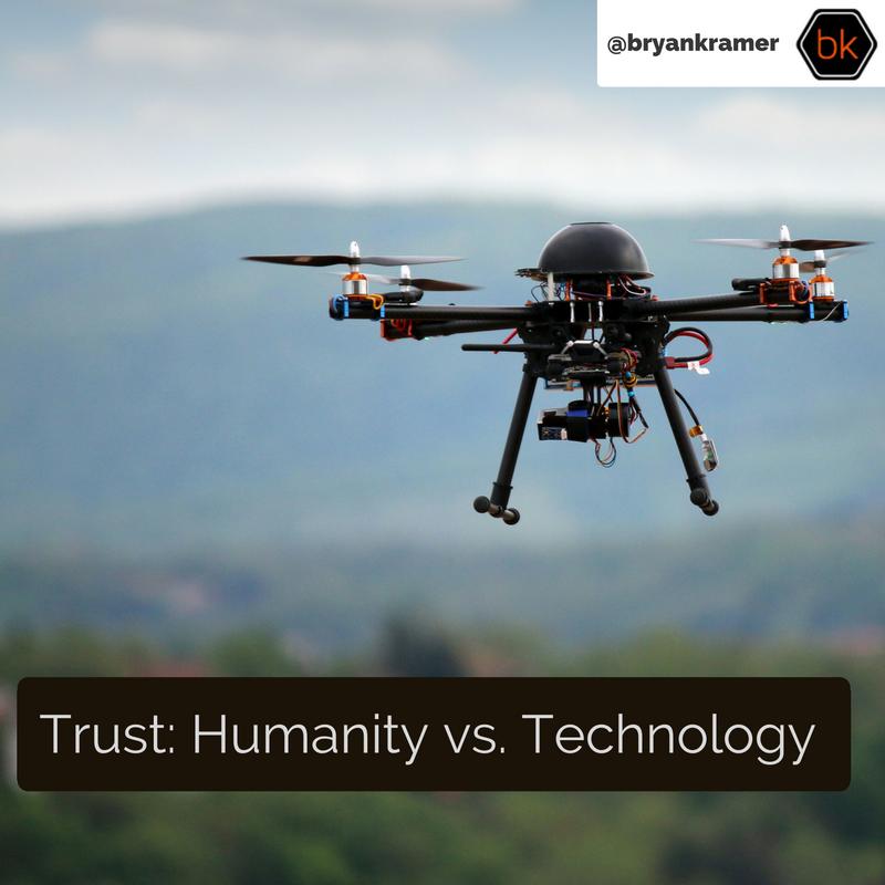 Trust Humanity Vs Technology
