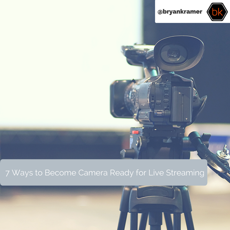 7 Ways to Become Camera Ready for Live Streaming |