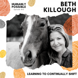 Humanly Possible Cover Art - Episode 15 - Beth Killough