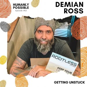 Humanly Possible Cover Art - Final-Demian Ross-Episode 21